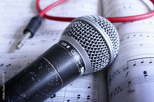 Cuadros en Lienzo mikrophon