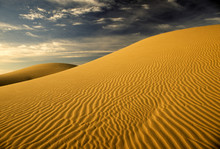 San Dunes Near El Centro, California