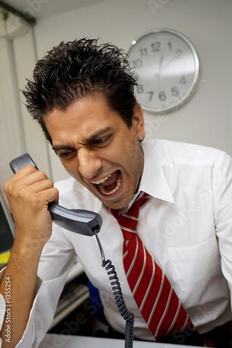 Fotografía  angry businessman