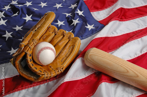 Photo  baseball in america