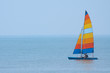 canvas print picture colorful sailboat