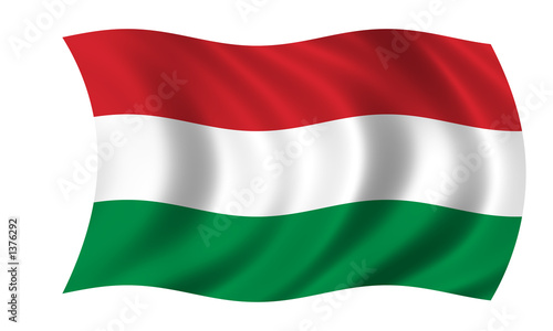 Fotografia  ungarn fahne