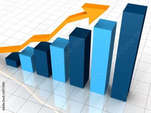 Fotografía  business graph