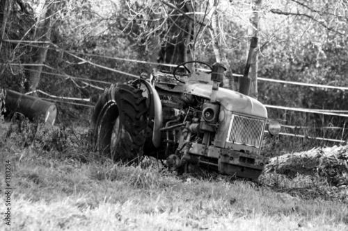 Fototapety, obrazy: tracteur