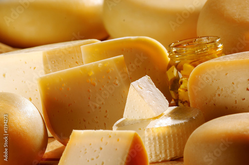 Fotografie, Obraz  different cheese products1