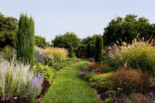 Foto op Canvas Tuin beautiful garden