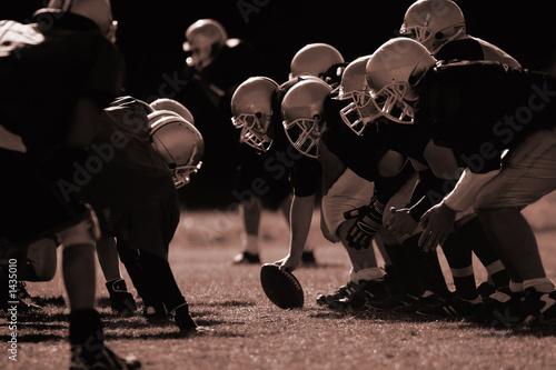 Fotobehang - american football
