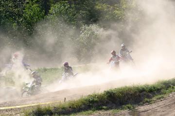 Obraz na płótnie Canvas moto cross,action