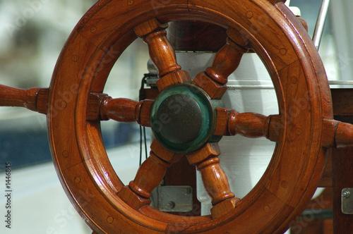 Photo  timon de madera