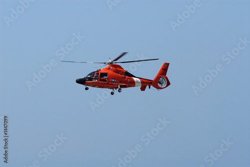 Foto op Canvas Helicopter us coast guard helicopter