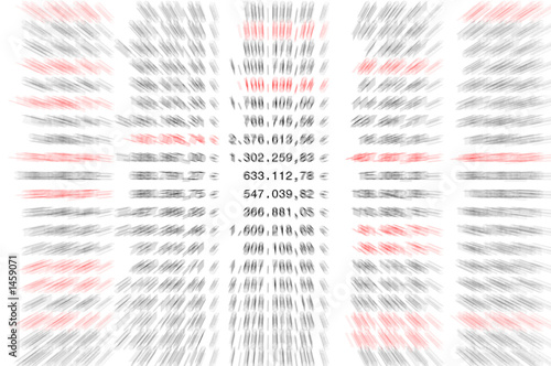 Fototapeta spreadsheet euro obraz