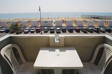 Beach-side Balcony