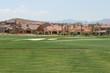 Leinwandbild Motiv golf course neighborhood