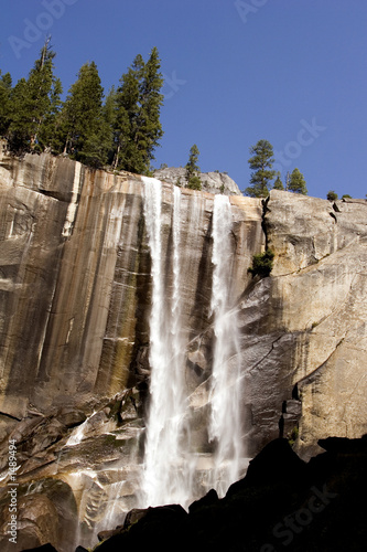 Photo  yosemite waterfall