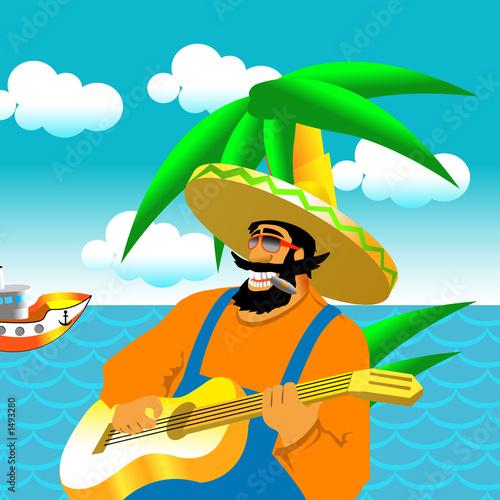 Poster Pirates hawaii rest