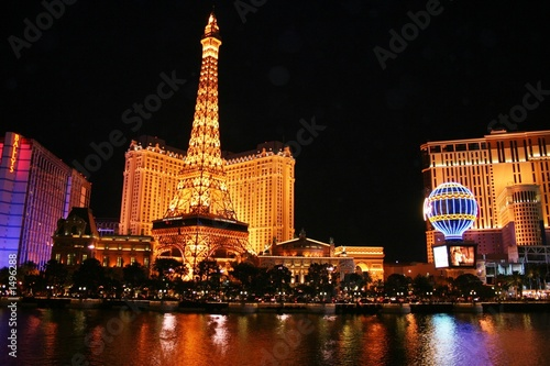 Wall Murals Las Vegas evening in las vegas