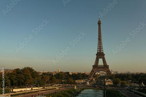 Foto op Aluminium Eiffeltoren tour eiffel trocadero