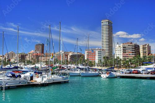 Photo alicante port