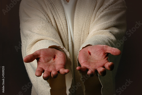 Canvas-taulu the hands of jesus