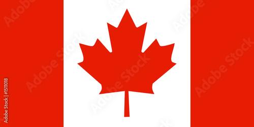Fotografia  canada flag kanada fahne