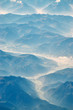Leinwandbild Motiv ice vally background