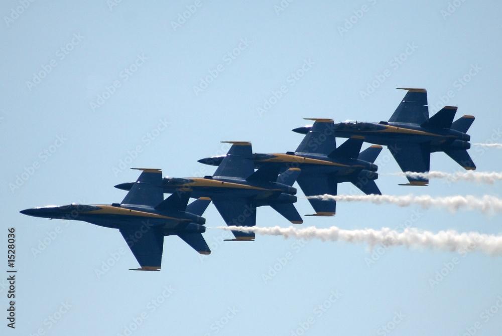 Fototapety, obrazy: navy blue angels in flight