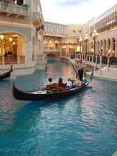 Gondola Ride At Venetian, Las Vegas