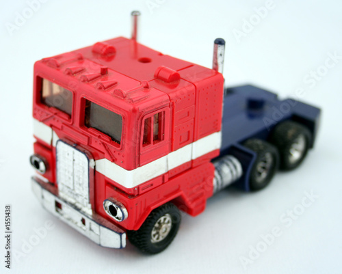 Photo  toy truck