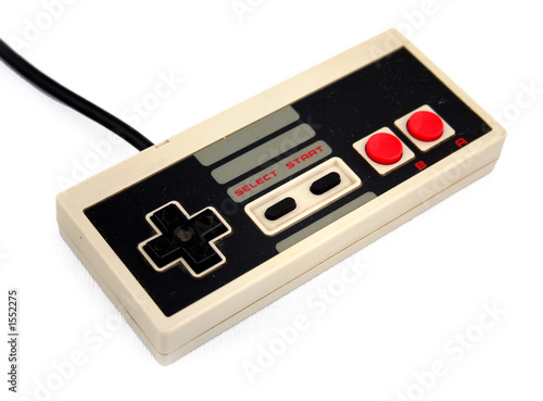 Photo  video game controller