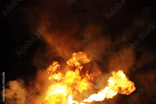 Fotografie, Obraz  gasoline fire