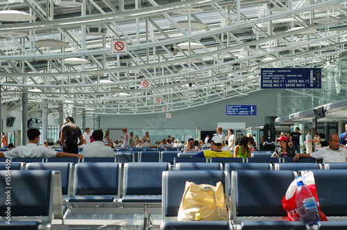 Foto op Aluminium Luchthaven waiting lounge in the airport