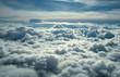 Leinwandbild Motiv above clouds