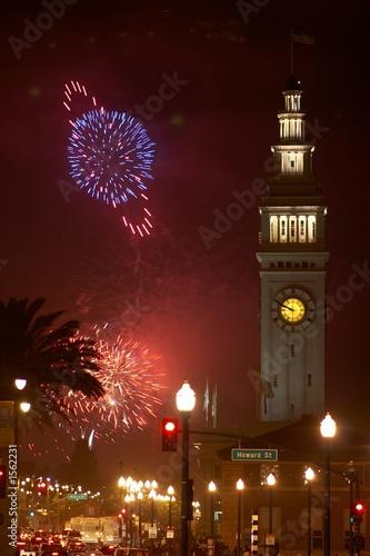 fireworks in san francisco #1562231