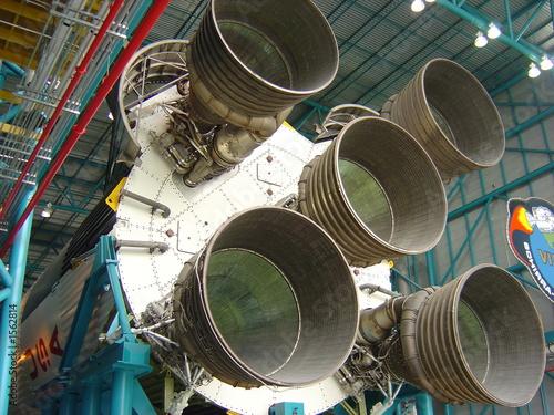 Keuken foto achterwand Nasa space rocket
