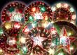 canvas print picture - six lanterns