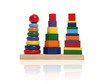 canvas print picture colorful toy blocks