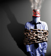 canvas print picture - chain smoker
