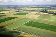canvas print picture - french fields