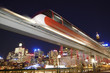 canvas print picture - sydney monorail 02