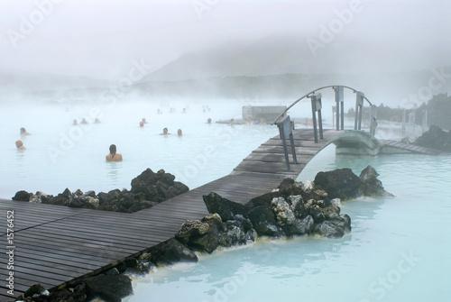 Photo  blue lagoon