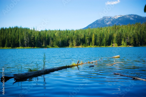 Spoed Foto op Canvas Cappuccino lake