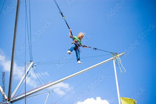 jumping Fototapete