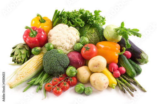 Tuinposter Keuken vegetables