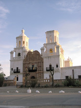 Sunrise Over San Xavier Mission