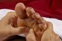 Reflexology Foot Massage At Spa