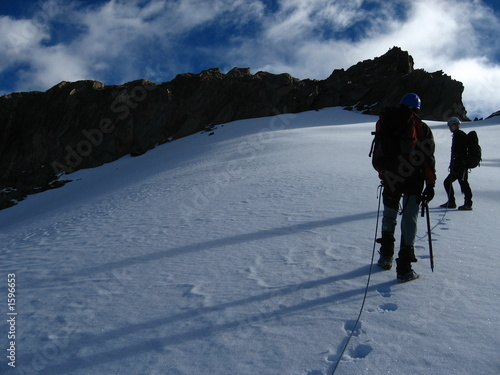 Valokuva  a l'approche du sommet