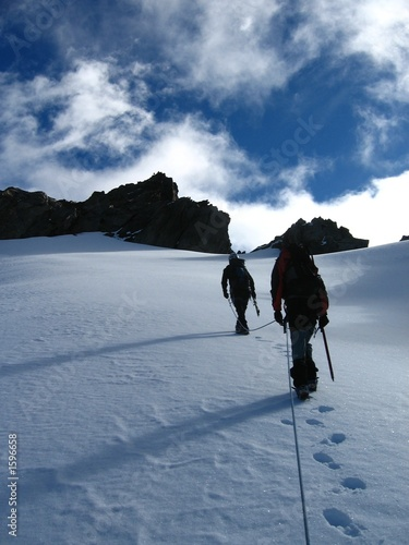 approche du sommet Canvas-taulu