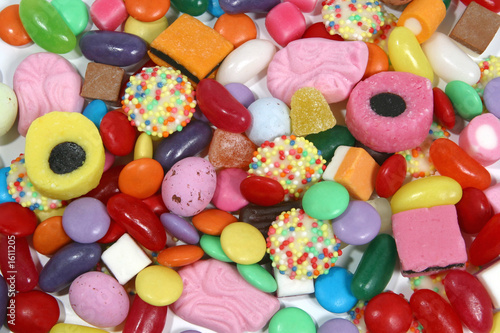 Wall Murals Candy sweets 4