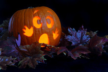 Frightened Pumpkin