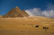 Leinwandbild Motiv pyramids group